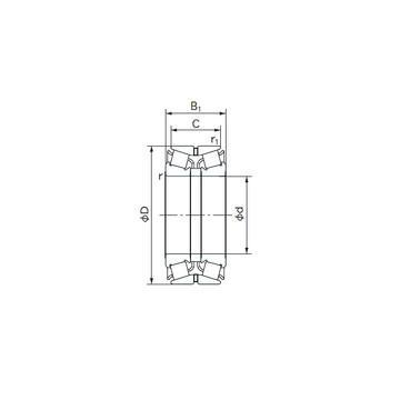 HM 89446/2/410/2/QCL7C Bantalan Rol Tapered